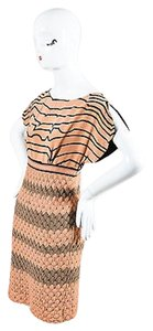 Missoni short dress Pink Dusty And Black on Tradesy