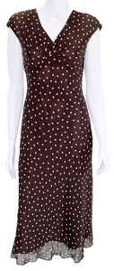 Jones New York Polka Dot Long Dress