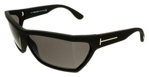 Tom Ford Tom Ford Matter Black Rectangle Sunglasses