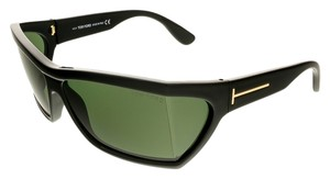 Tom Ford Tom Ford Shiny Black Rectangle Sunglasses