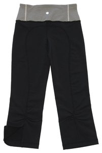 Lululemon Yoga Luon Fabric Capri/Cropped Pants Black