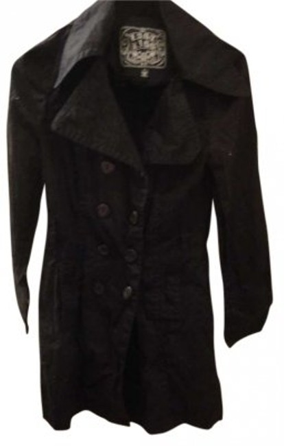 Preload https://item2.tradesy.com/images/black-trench-coat-size-4-s-143106-0-0.jpg?width=400&height=650