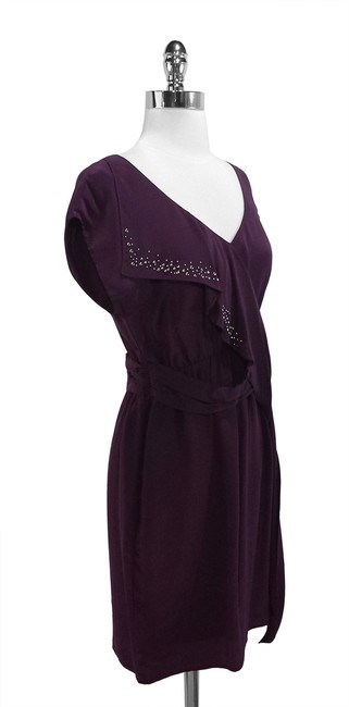 Graham & Spencer short dress Plum Silk on Tradesy