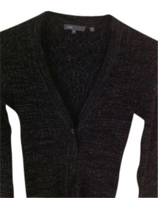 Preload https://img-static.tradesy.com/item/143115/vince-black-and-gray-cashmere-wool-cardigan-sweaterpullover-size-4-s-0-0-650-650.jpg
