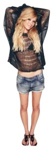 Wildfox Cut Off Shorts Blue faith
