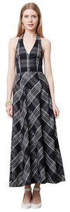 Black and White Maxi Dress by Anthropologie