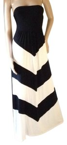 Black & White Maxi Dress by Design History
