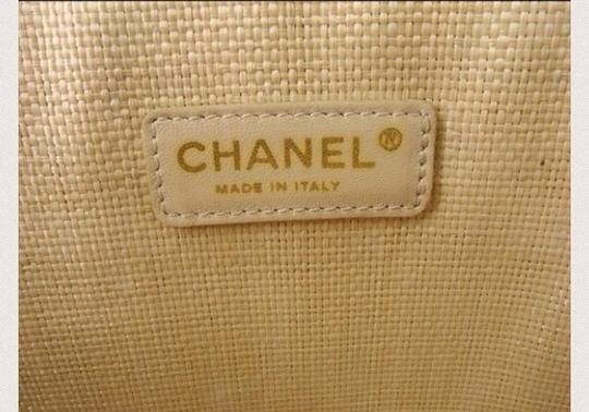 Chanel Tote in beige and light blue