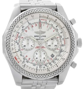 Breitling Breitling Bentley Motors Chronograph Silver Dial Mens Watch A25362