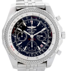 Breitling Breitling Bentley Motors Chronograph Black Dial Mens Watch A25362