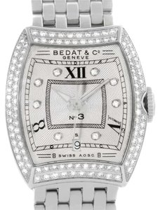 Bedat & Co Bedat No 3 Ladies Stainless Steel Diamond Watch 314.031.109