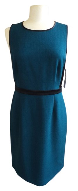 Preload https://img-static.tradesy.com/item/1431364/dkny-dark-green-and-black-hunter-career-mid-length-workoffice-dress-size-10-m-0-0-650-650.jpg