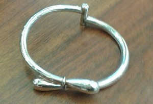 Unknown Silver Cuff Bracelet