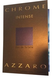 Azzaro Chrome Intense Azzaro Eau De Toilette Sample 0.05 Fl Oz