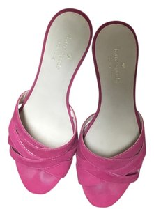 Kate Spade Wedge Pink Sandals
