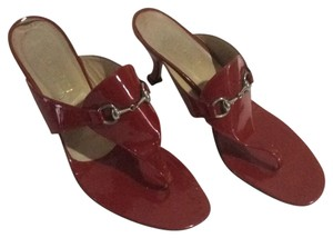 Gucci Patent leather red Sandals