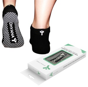 Dhyana Fitness Luxury Yoga Toe Socks for Women By Dhyana - S/M Size