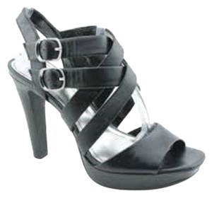 Style & Co Sandal Black Platforms