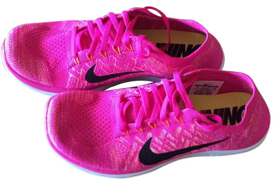 promo code 98da8 2770b Nike Hot Pink Free 4.0 Flyknit Sneakers Size US 9 Regular (M, B) 26% off  retail