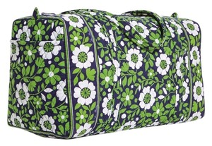 Vera Bradley lucky you/green Travel Bag