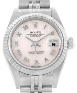 Rolex Rolex Datejust Ladies Decorated Rose Mother of Pearl Dial Watch 79174