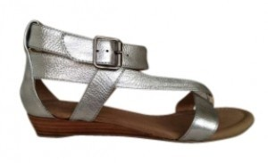 Matisse Matte Silver or Matte Gold Sandals