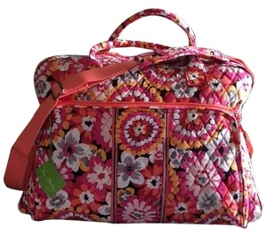 Vera Bradley Multicolor Floral Pattern Travel Bag