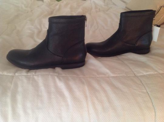 Ariana Bohling Chelsea Boots Black Leather Boots