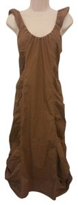 Brown Maxi Dress by XCVI Ruched