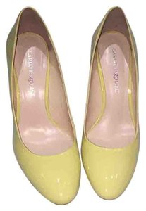 Carlo Pazolini Yellow Pumps