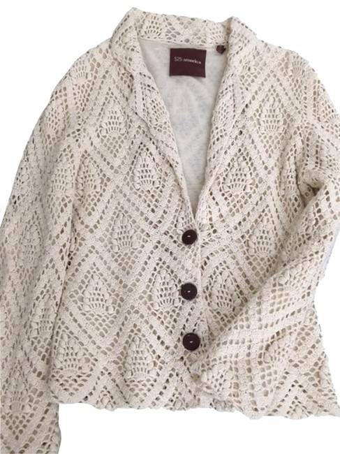 525 America Crochet tan, beige Jacket