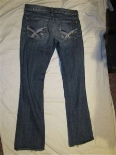 Seven for All Mankind Boot Cut Jeans-Medium Wash
