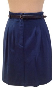 Theory Mini Skirt Marine blue