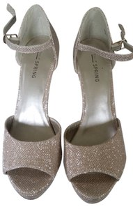 Call It Spring Champagn Wedges