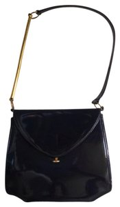 Bonwit Teller Vintage Patent Leather Shoulder Bag