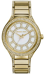 Michael Kors Kerry Mother of Pearl Dial Gold-tone Ladies Watch MK3312