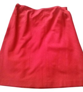 Elie Tahari Skirt red