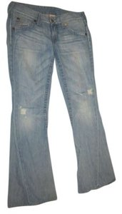 True Religion Flare Leg Jeans-Light Wash