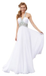 MADISON JAMES Prom Beaded Rhinestones Dress