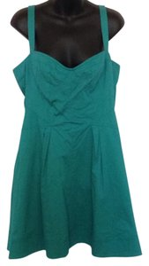 Zac Posen short dress Teal on Tradesy