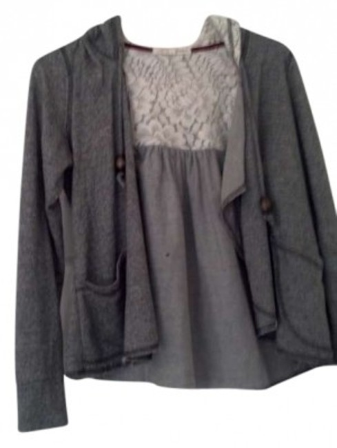 Preload https://item2.tradesy.com/images/rewind-gray-cardigan-size-8-m-143176-0-0.jpg?width=400&height=650