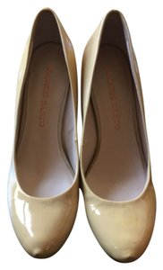 Franco Sarto Cream Pumps