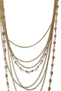 NEW LONG NECKLACE WITH MANY STRANDS AND DESIGNS FOR STRIKING LOOK
