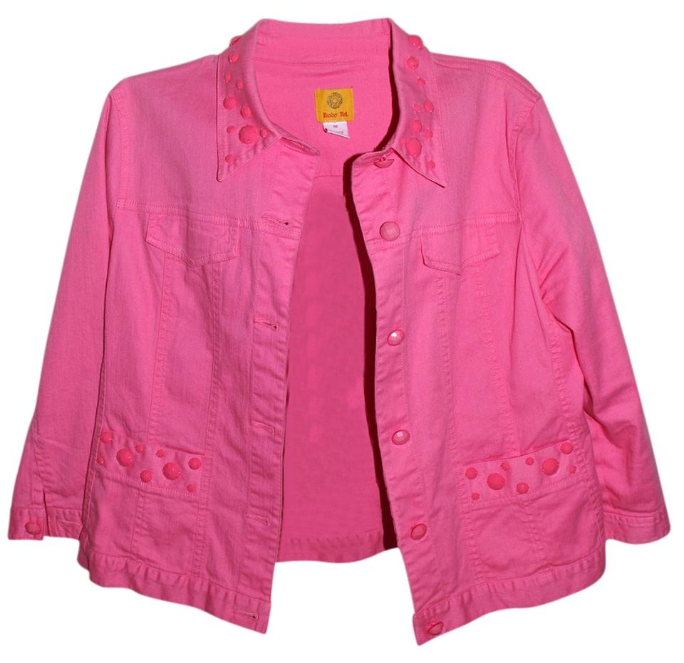 well known good looking affordable price Hot Pink Jacket