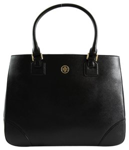 Tory Burch 38159908 Robinson Tote in Black