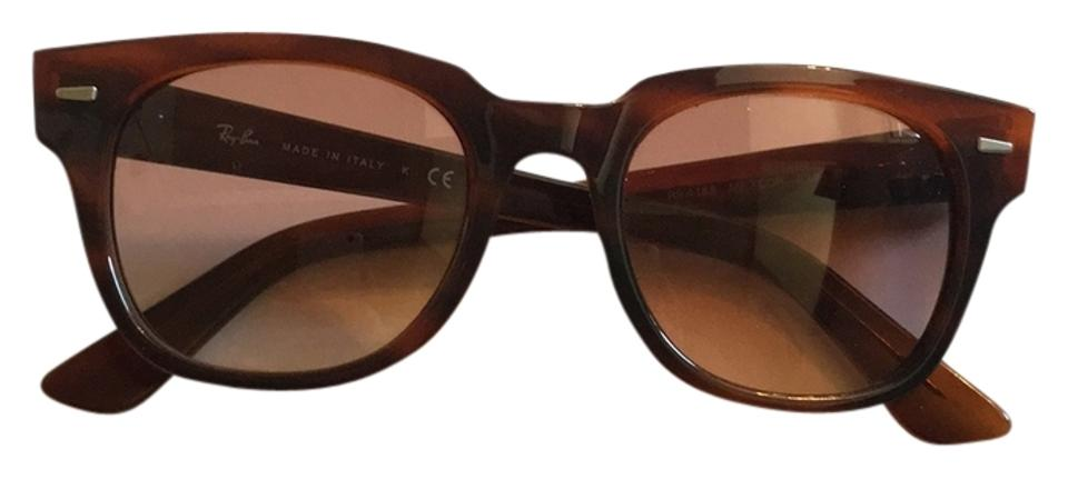 9fd9904af8c Ray-Ban Brown Rb Meteor 4168 820 Sunglasses - Tradesy