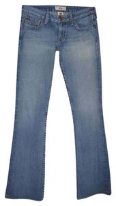 PRVCY Boot Cut Jeans-Light Wash