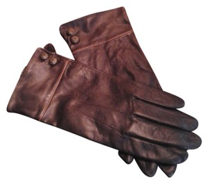 A. Giannetti Leather Gloves Size L