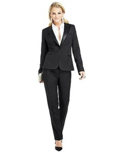 After Six Dessy After Six Women's Tuxedo A6wtux & Tuxwpant1 Black Size 14