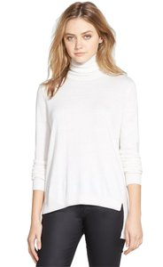French Connection Casual Turtleneck Soft High-low Knit Sweater